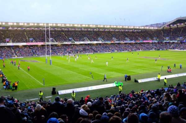Murrayfield Stadium, section: W31, row: LL, seat: 30