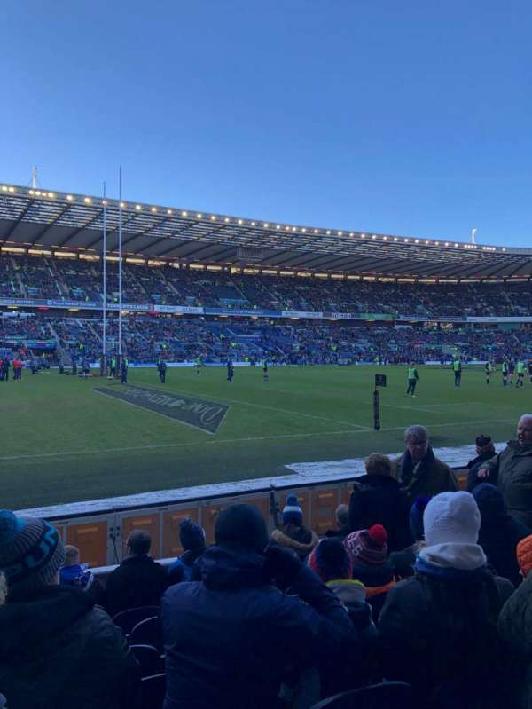 Murrayfield Stadium, section: E17, row: H, seat: 18