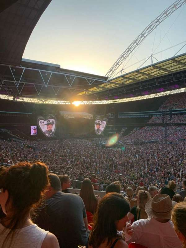 Wembley Stadium, section: 118, row: 40, seat: 178