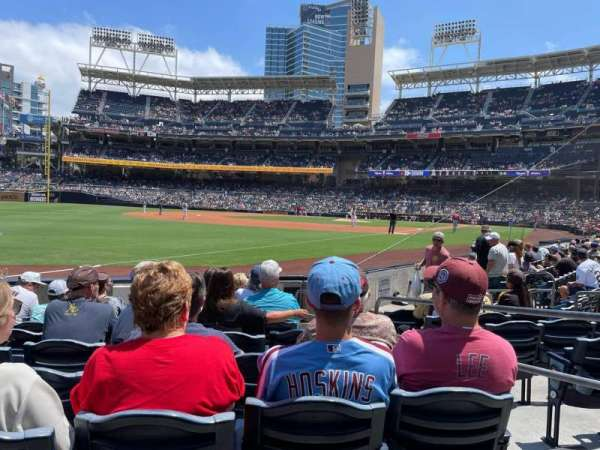 PETCO Park, section: 122, row: 9, seat: 3