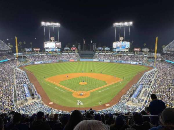 Dodger Stadium, section: 1rs, row: T, seat: 3