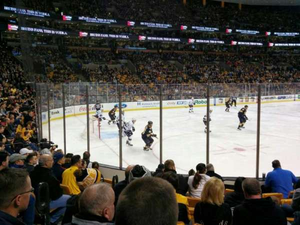 TD Garden, section: Loge 4, row: 9, seat: 14