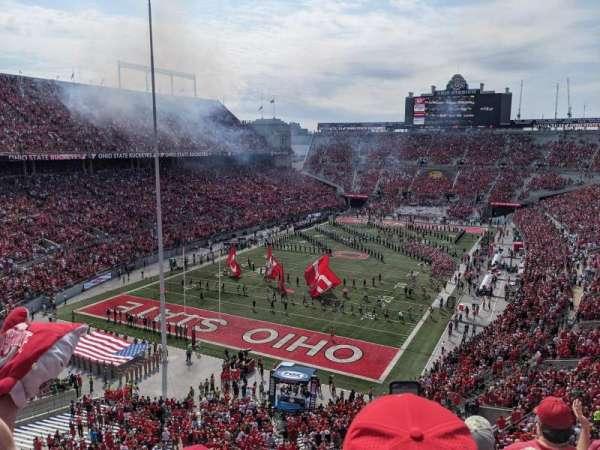 Ohio Stadium, section: 7C, row: 4, seat: 4