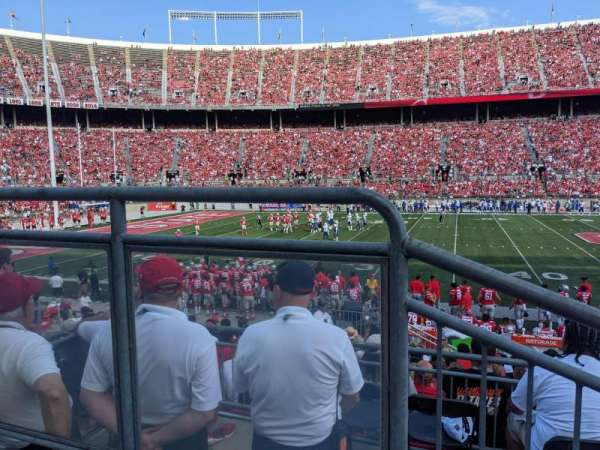 Ohio Stadium, section: Club 2, row: 2, seat: 2