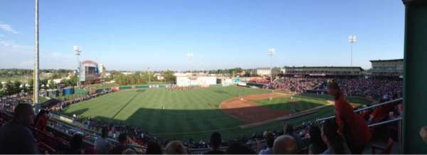 Hammons Field, section: GG, row: 4, seat: 3