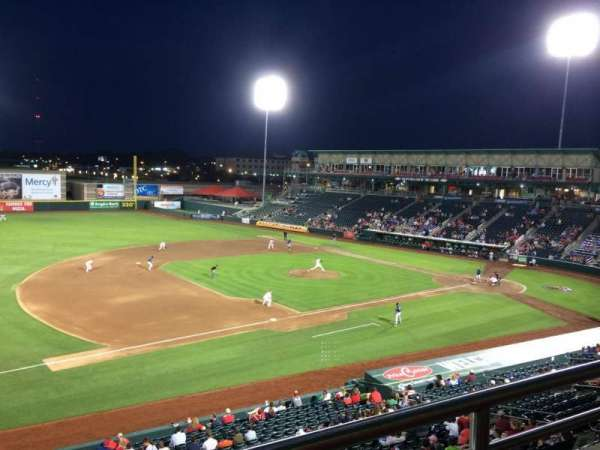 Hammons Field, section: FF, row: 1, seat: 4