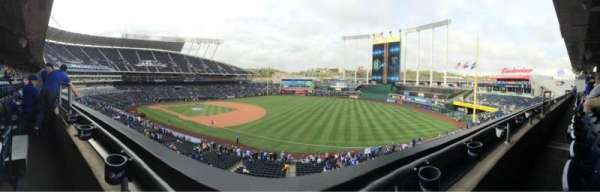 Kauffman Stadium, section: 322, row: A, seat: 4
