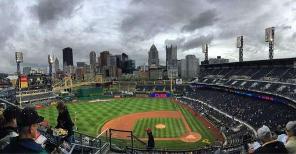PNC Park, section: 321, row: L