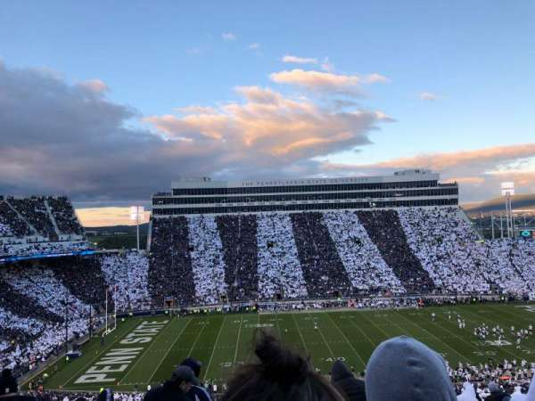 Beaver Stadium, section: WFU, row: 78, seat: 32