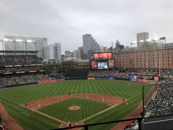 Oriole Park at Camden Yards, section: 336, row: 2, seat: 2