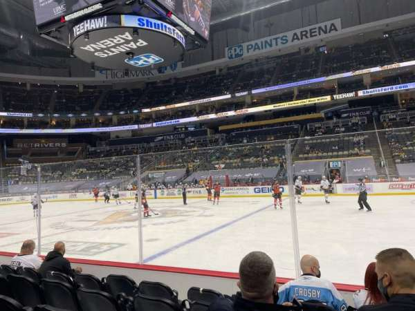 PPG Paints Arena, section: 111, row: E, seat: 4