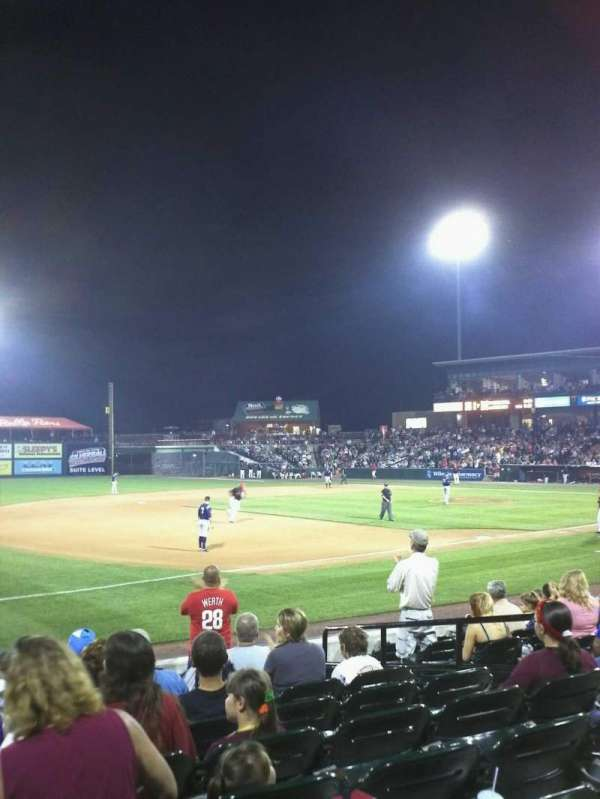 Clipper Magazine Stadium, section: 25, row: J , seat: 7