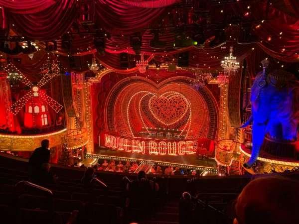 Al Hirschfeld Theatre, section: Mezzanine R, row: J, seat: 2