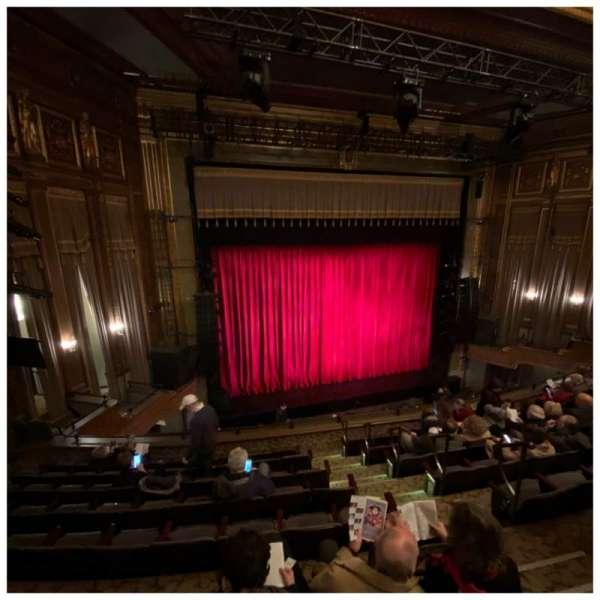 Nederlander Theatre, section: Mezzanine L, row: H, seat: 7