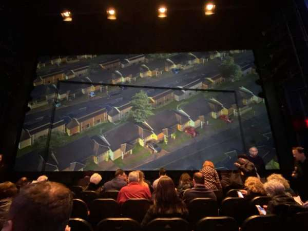Hayes Theater, section: Orchestra C, row: G, seat: 106
