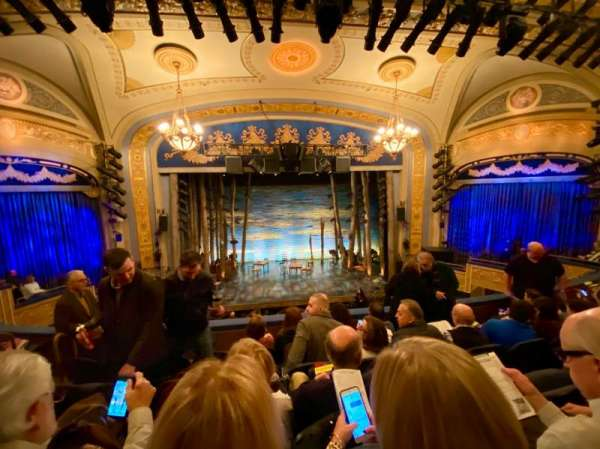 Gerald Schoenfeld Theatre, section: Mezzanine C, row: E, seat: 105