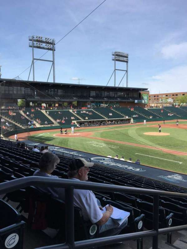 Huntington Park, section: 5, row: 17, seat: 18