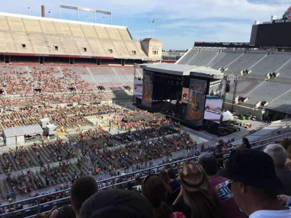Ohio Stadium, section: 17C, row: 9, seat: 18