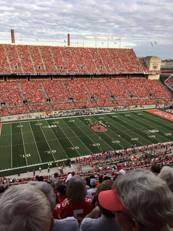Ohio Stadium, section: 17C, row: 19, seat: 1