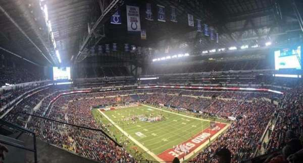 Lucas Oil Stadium, section: 604, row: 4, seat: 10