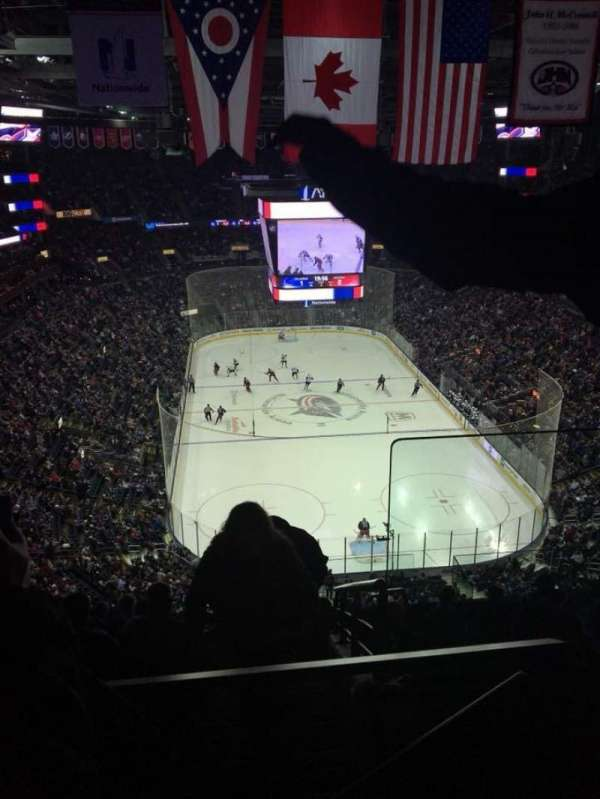 Nationwide Arena, section: 211, row: K, seat: 1