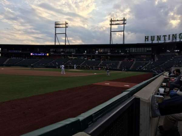 Huntington Park, section: 21, row: 1, seat: 1