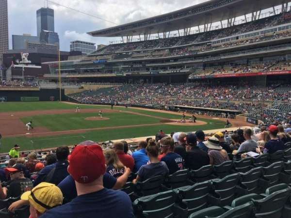 Target Field, section: 120, row: 11, seat: 22