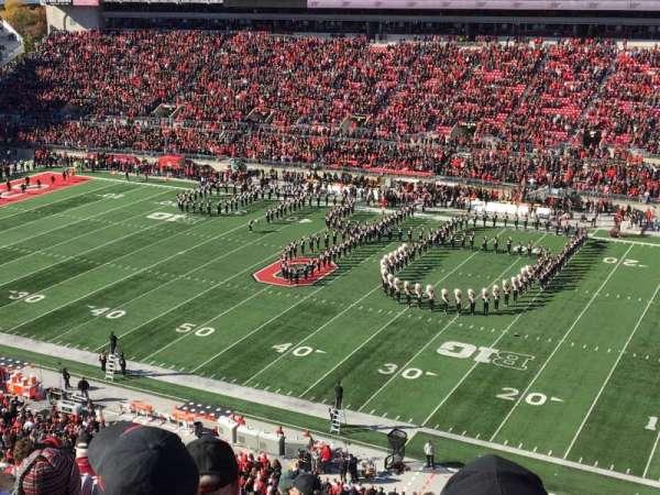 Ohio Stadium, section: 16C, row: 10, seat: 25