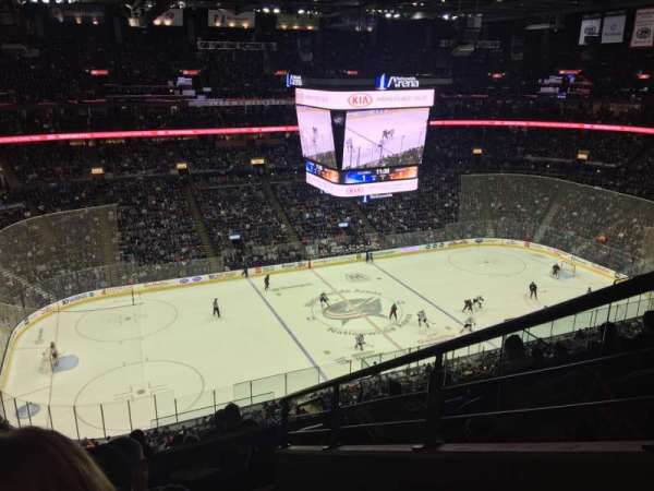 Nationwide Arena, section: 219, row: H, seat: 1