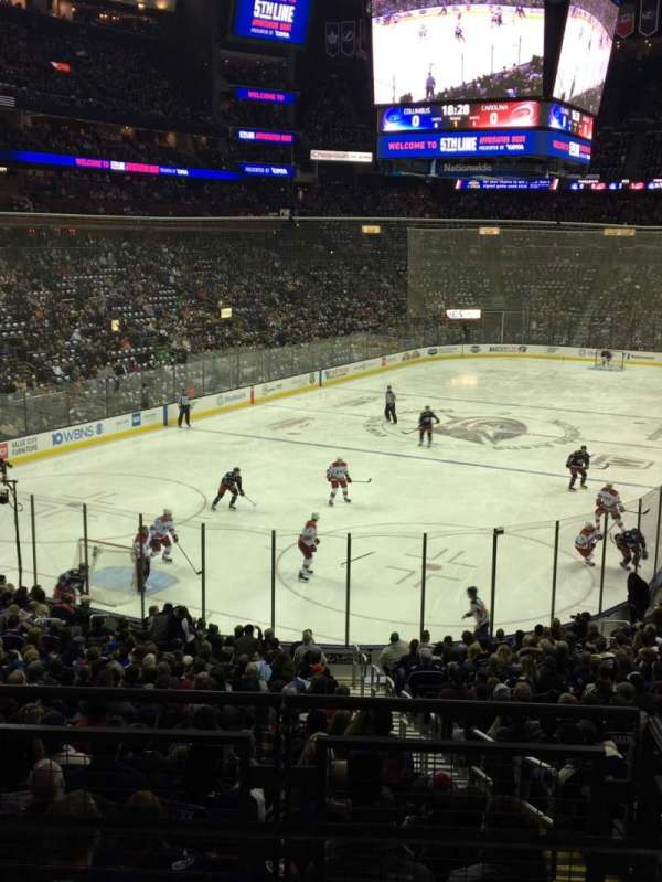 Nationwide Arena, section: C10, row: A, seat: 1