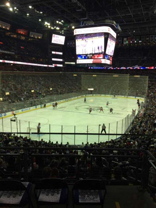 Nationwide Arena, section: C10, row: A, seat: 2