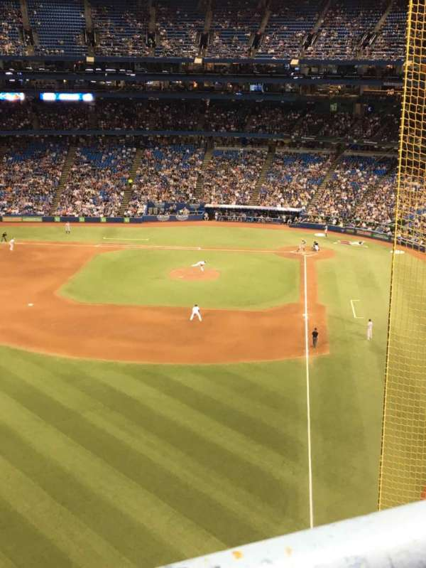 Rogers Centre, section: 539R, row: 1, seat: 2