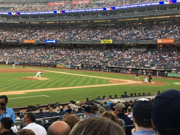 Yankee Stadium, section: 126, row: 10, seat: 5