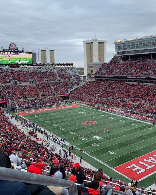 Ohio Stadium, section: 10C, row: 15, seat: 31