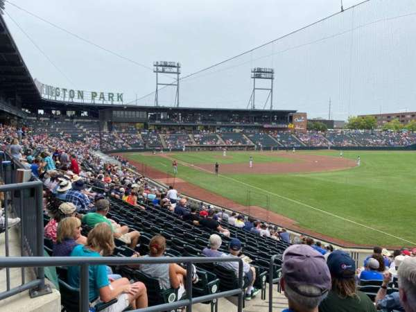 Huntington Park, section: 1, row: 17, seat: 32