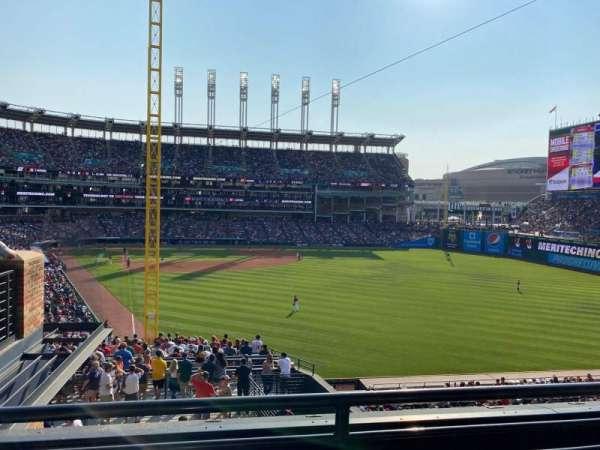 Progressive Field, section: 316, row: B, seat: 8