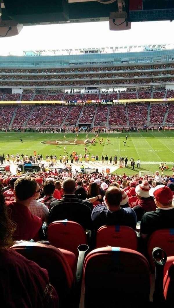 Levi's Stadium, section: C113, row: SRO bar rail
