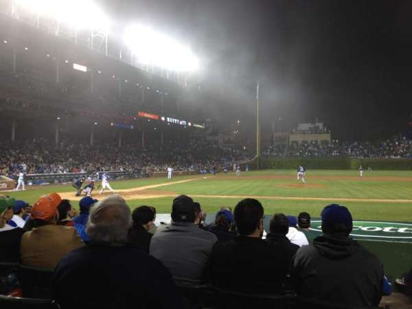 Wrigley Field, section: 22, row: 12, seat: 16