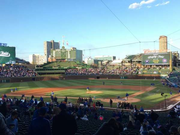 Wrigley Field, section: 215, row: 6, seat: 14
