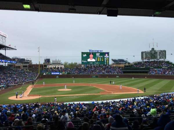 Wrigley Field, section: 222, row: 10, seat: 10