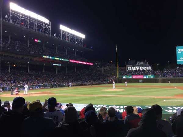 Wrigley Field, section: 23, row: 13, seat: 12