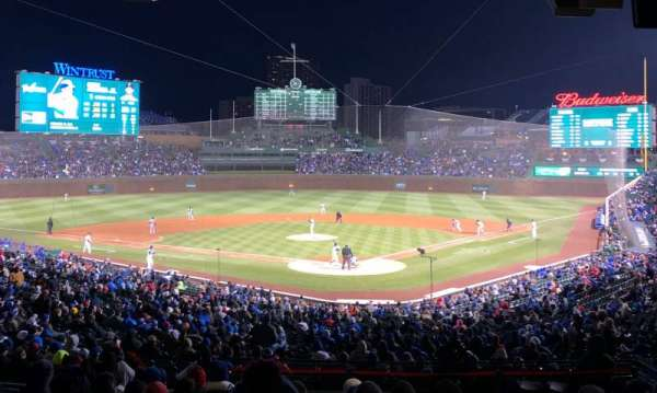 Wrigley Field, section: 216, row: 12, seat: 22