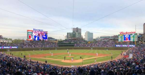Wrigley Field, section: 217, row: 5, seat: 7
