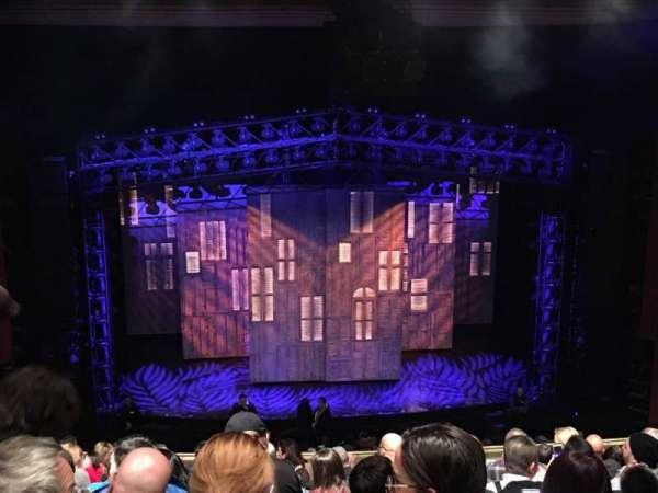Marquis Theatre, section: Mezzanine C, row: L, seat: 105