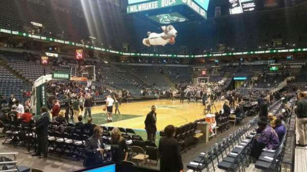 BMO Harris Bradley Center, section: 204, row: B, seat: 12