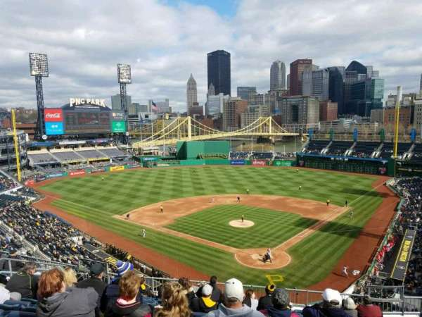 PNC Park, section: 217, row: K, seat: 10