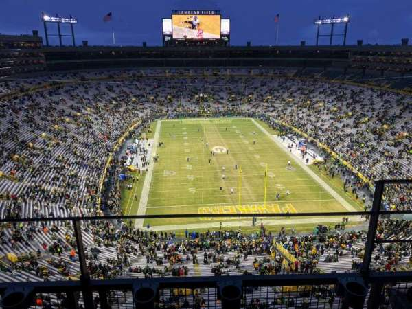 Lambeau Field, section: 746S, row: 2, seat: 13