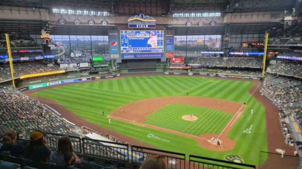 American Family Field, section: 425, row: 5, seat: 1