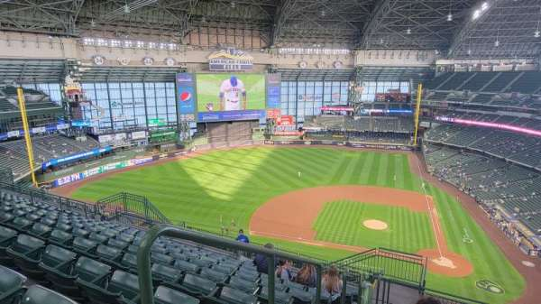 American Family Field, section: 427, row: 17, seat: 14