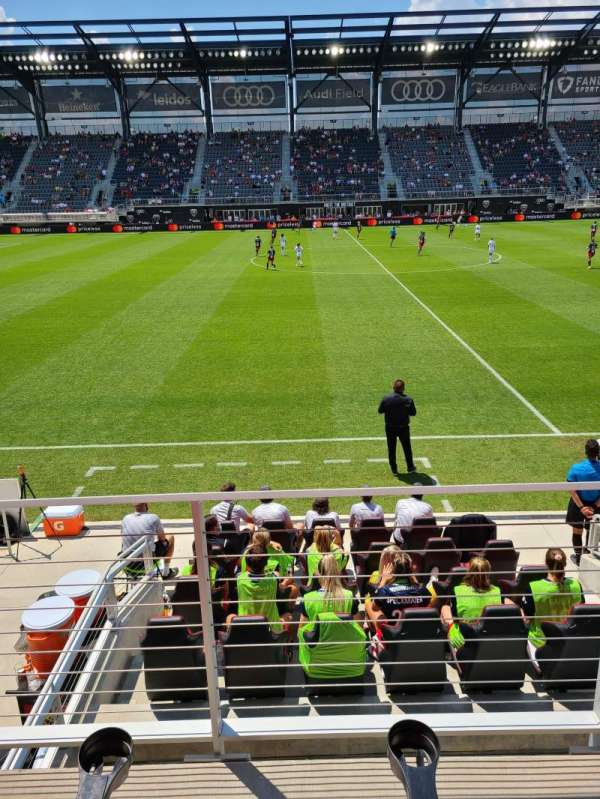 Audi Field, section: C5, row: 2, seat: 21